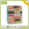 Bolsas de papel coloridas coloreadas rayadas del regalo de las compras del arte revestido