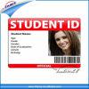 Het professionele Plastic Identiteitskaart van de Foto van de Student/van de Werknemer