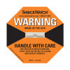 Ярлык удара Shockwatch 75g в упаковывая ярлыке