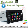 La Hl-8816 Carplay Car DVD Player Android 7.1 Auto GPS para Radio de navegación GPS de Cayena Prosche