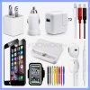 Самое лучшее вспомогательное оборудование мобильного телефона оптовой продажи штока ясности фабрики цены для Samsung/Android черни