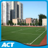 O alto densidade ostenta o verde de cal artificial da grama