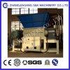 Triturador de plástico/tubo de HDPE Shredder/Eixo Único Shredder/ Triturador de Eixo Duplo/ máquina Triturador de plástico/grande bloco plástico e Triturador fixos