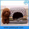 A cama do animal de estimação do preço de fábrica fornece a casa do filhote de cachorro do cão (HP-25)