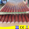 Galvanized rouge Corrugated Metal Sheet pour Roof