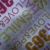 Papeles pintados internos metálicos de lujo del rodillo Hotel/Bath Center/SPA Decortion del papel pintado del brillo Silver/Gold del diseño del módem