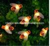 30a conduit les abeilles de l'Halloween chaîne solaire de jardin feux (RS1032-30)