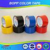 Cinta del embalaje del color BOPP de la alta calidad de Hongsu para el lacre del cartón