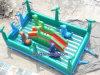 カスタマイズされた膨脹可能な城は受け入れるカスタマイズするデザイン(A215)を