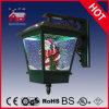 2015 Hotsale Navidad de Papá Noel de la lámpara de pared con Música