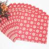 serviette de papier colorée de faveur de fête de Noël
