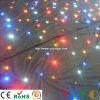 Свадьбу этапе стороны оформление фона огнеупорные LED Star ткань легких