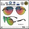 Gafas de sol rojas gruesas de moda del lujo de la lente de Sunglasse