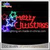 장식적인 즐거운 성탄 편지 기치 크리스마스 주제 빛 (OB-KL-42002)