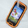 Mtk6589 Mobiele Telefoon van de Kaarten SIM van de Kern van de Vierling de Dubbele 3G Waterdichte IP67