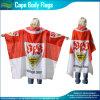 Флаг плащи-накидк футбольного болельщика спортов (NF07F02017)