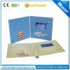 Самые тонкие подгонянные карточки приглашения LCD печатание видео- для дня рождения