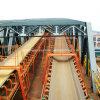 Ленточный транспортер кабельной жилы высокой напряженности Dx стальной для морского порта