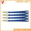 Acollador barato de la tarjeta de la identificación con el gancho de leva del metal (YB-KY-60)