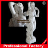 Femmina con Sash Hotel Marble Statue Hotel Marble Sculpture