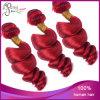 Trama brasiliana Romance rossa dei capelli del Virgin di buona qualità dell'arricciatura