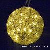 LED amarillo claro Bell por un jardín Festival de iluminación de la decoración