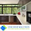 Module de cuisine à haute brillance de meubles de compartiment de fini de laque de couleur de café (ZY 1145)