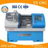 편평한 침대 유형 CNC 선반 실제적인 CNC 선반 기계