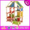 나무로 되는 인형 집이 DIY 2015년 Beartiful 공주에 의하여, 가장한다 실행 장난감 아이 나무로 되는 인형 집, 형식 DIY 나무로 되는 장난감 집 W06A108를 농담을 한다