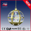 Moderno Color Oro Snowman Family Holiday Lámpara colgante con LED