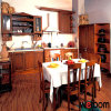Mobilia tradizionale della cucina di stile di legno solido di Welbom