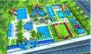 Популярный Lilytoys надувные земли водный парк с бассейноми водными горками