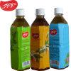 O Chá verde garrafa de bebida em 500ml frascos quadrados