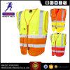 Высокая видимость безопасности отражает куртка