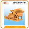Js ejes horizontales eléctrico portátil cemento mezclador de concreto para 75m3 / H