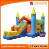 Castillo de salto del juguete divertido inflable del Moonwalk combinado con la diapositiva (T3-201)