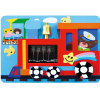 Brinquedo de crianças brinquedo de parede trem