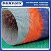 Material de la cerca del acoplamiento del PVC Bandera revestida del vinilo de la tela del poliester