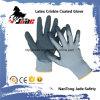 перчатка Nylon Crinkle латекса ладони 13G Coated промышленная