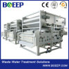 Filtre-presse chaud de courroie de vente pour l'asséchage de cambouis
