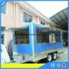 De Aanhangwagen van het Voedsel van de Oven van de Kegel van de Pizza van de Douane van Yieson