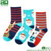 Venta al por mayor personalizada de algodón de Navidad calcetines