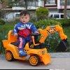 아이를 위한 플라스틱 장난감 마찰 기술설계 트럭 축소 모형 굴착기