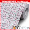 Papier peint sans joint de jacquard de qualité de revêtement de mur de papier de mur de textile
