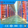 Cremalheira resistente da pálete do metal moderno da solução do armazenamento do armazém da indústria de transformação
