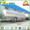 58000L válvulas instaladas 3 Ejes de Transporte del tanque de combustible del semi-remolque