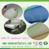 100% de PP no tejido colorido Tejido de polipropileno