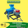 La Cina Manufacturer Sweet Corn Thresher con Power Assembly Wheels