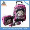 Мешок обеда Backpack вагонетки подарка канцелярских принадлежностей школы шаржа промотирования установленный