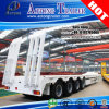 Direktes Factory 80tons Low Bed Semi Trailer mit Hydraulic Ramp